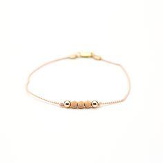Blush Friendship Bracelet