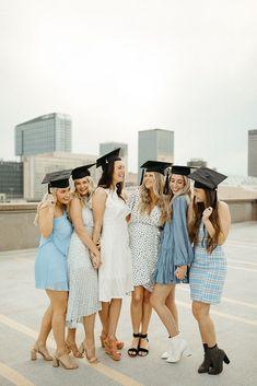 Nursing Graduation Pictures, College Senior Pictures, Graduation Picture Poses, Graduation Photoshoot, Grad Pics, Grad Pictures, Senior Photos, Group Senior Pictures, Graduation Portraits