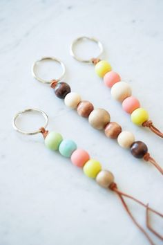12 Diy Keychains To Make For Gifts - diy Thought