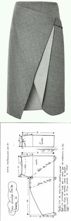 Une jupe facile