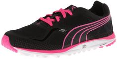 These comfortable and stylish looking womens faas lite mesh golf shoes by Puma will have you looking and feeling your very best when out on the course