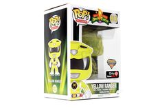 POP! Television: Power Rangers - Yellow Ranger [Glitter Morphing Exclusive]