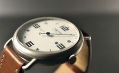 The Single Hand Watch Inspired By Sports Car Tachometers | Cool Material