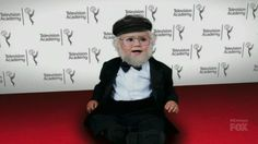 Our Man of the Week just celebrated his 67th birthday! See a bearded baby George R.R. Martin, & learn Jon Snow's fate, courtesy of the #emmys: http://chubstr.com/2015/entertainment/man-of-the-week-happy-birthday-george-r-r-martin/