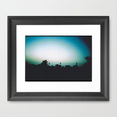Tunisia Skyline Framed Art Print