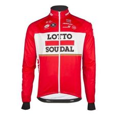 Lotto Red Long Sleeve Jersey Top Jersey Tops e63cc2f15