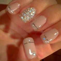 Nude Color Nails - 25 Best Nude Nail Polish Manicures