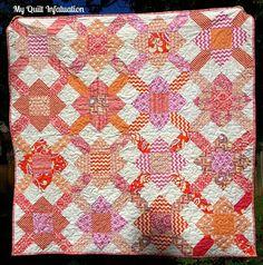 My Quilt Infatuation: Purse Strings Block