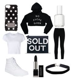 """""""SOLD OUT  #sorrynotsorry"""" by leah3000 ❤ liked on Polyvore featuring Iphoria, RE/DONE, STELLA McCARTNEY, Vans, Miss Selfridge, Essie and MICHAEL Michael Kors"""