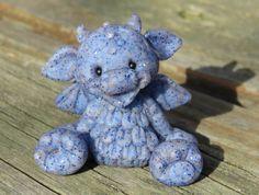 Dark blue shimmer Dragon
