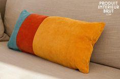 Dreifarbiges Kissen Mathis
