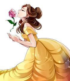 Belle disney: 132 best images about (disney) beauty and the beast on. Belle Disney, Disney Princess Art, Disney Nerd, Disney Fan Art, Disney Dream, Disney Girls, Walt Disney, Disney Cartoons, Disney Movies