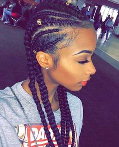 African Hairstyle Braid