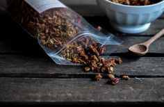 Floriole's Olive Oil Granola | The unique Olive Oil Granola is loaded with good-for-you ingredients like flax pumpkin seeds, dried fruits, nuts and boasts a ton of flavor. We'll be making a double batch for our morning meal!