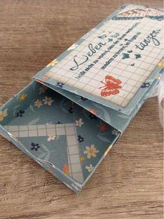 kreativMANUfaktur: Schiebeschachtel mit dem Envelope Punch Board gebastelt