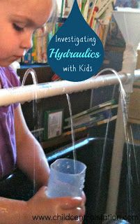 Experimenting with Hydraulics! | Child Central Station