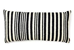 Liski 30x60 Pillow, Black/White on OneKingsLane.com