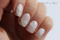 Feather Nail Art by Tenshi No Hana on www.nails-art.fr