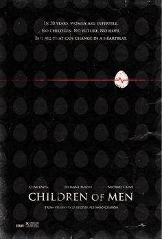 Children of men alternative movie poster