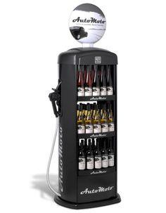 Gas Pump Wine Merchandiser