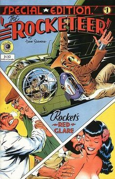 Eclipse Comics Special Edition #1 - The Rocketeer by Dave Stevens