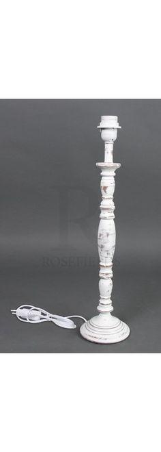 Large White Lamp Base @ rosefields.co.uk