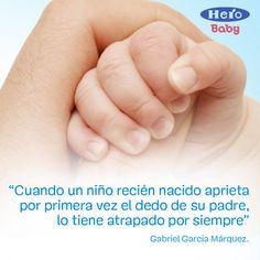 Cuando un niño recién nacido aprieta por primera vez el dedo de su padre, lo tiene atrapado por siempre