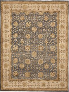 """Hand-Knotted Wool Rug - 8'10""""x 11'10"""" on Chairish.com"""