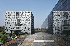Офисный комплекс Cube Tube в Джинхуа