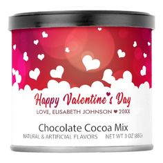 Lovely Happy Valentine& Day Hearts - Drink Mix - home gifts ideas decor special unique custom individual customized individualized Saint Valentine, Valentines Day Hearts, Happy Valentines Day, Customized Gifts, Personalized Gifts, Love Girlfriend, Valentine Chocolate, Couple Gifts, Mixed Drinks