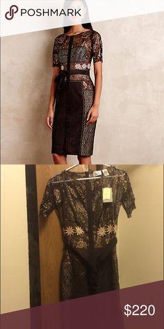 Anthropologie Byron Lars Dress NWT. Gorgeous. Anthropologie Dresses Midi