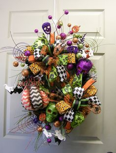 Spectacular Spooky Wreath