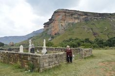 Van Reenen Grave yard in the Golden Gate Highlands National Park in the Eastern Free State