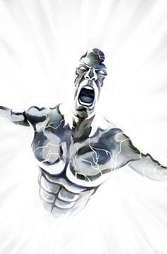 The Silver Surfer-Sacrifice by *carstenbiernat on deviantART