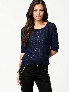 Vero Moda sequin jumper-for sale-for info contact me.L size.Thanks