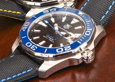 TAG Heuer Aquaracer 300M Ceramic Bezel Watch Collection For 2015 Hands-On Hands-On