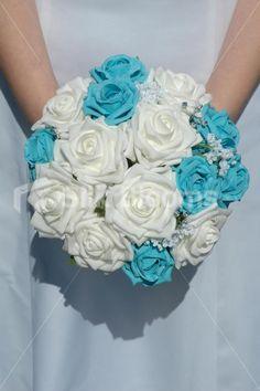 purple aqua teal wedding - Google Search