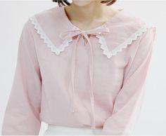 cute collar blouse