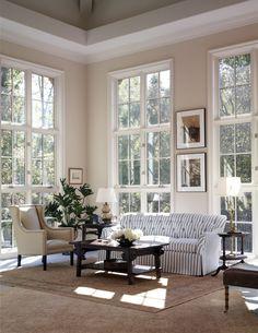 floor to ceiling windows.