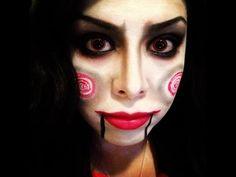 Jigsaw Makeup Tutorial (Saw) - Rubynicole85