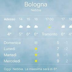 Domenica neve  a #bologna