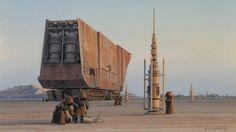 Sci-fi Spaceships — mystarwars: Ralph McQuarrie Star Wars Concept...