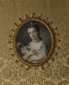Francis Cotes, portrait of Selina Chambers (born 1754) with a doll, 1764 - Victoria & Albert Museum, London