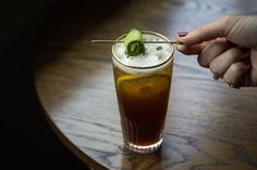 Punch - Rustic Pimm's Cup