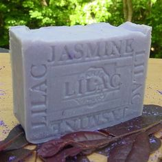 Jasmine and Lilac French Beauty Soap  From Provence France, our jasmine , lilac soap is made according to hundred year old tradition. October----------******************************