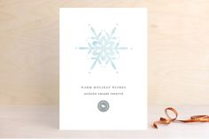 Winter Watercolor by Fig and Cotton Paperie at minted.com