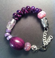 purple love by nanmade jewelry