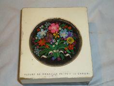 Antiga Embalagem Perfume Fleurs De Rocalille De Caron Caixa - R$ 25,00 no MercadoLivre