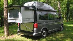 So sieht ein VW T5 aus, wenn er zum Bettmobil umgebaut wird (Quelle: Hersteller)