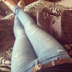 Loooove these jeans! And everything else in this picture.